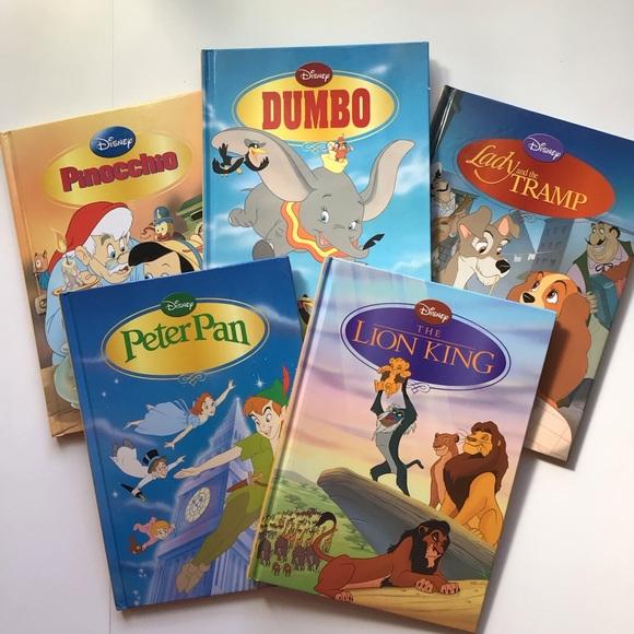 5 large Disney hardcover books